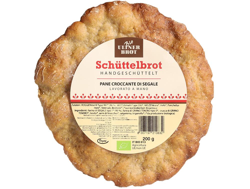 Schüttelbrot BIO Ultner Brot