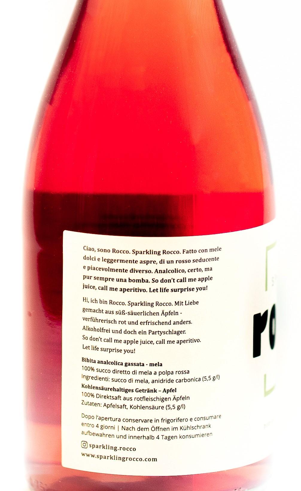 Sparkling Rocco - Alkoholfreier Aperitif